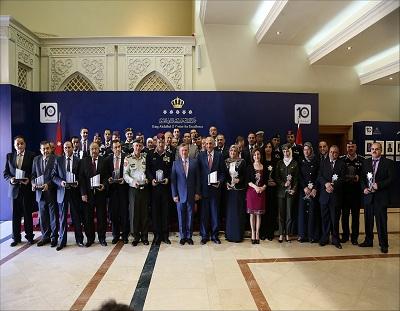 من انجازات روى: خمس جوائز حصدتها المؤسسات الحكومية في جائزة الملك عبدالله الثاني للتميّز